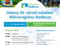 20. výročí Mikroregionu Radbuza