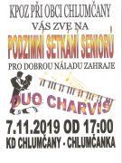 Setkání seniorů 7.11.2019