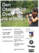 Den otevřených dvěří na střelnici