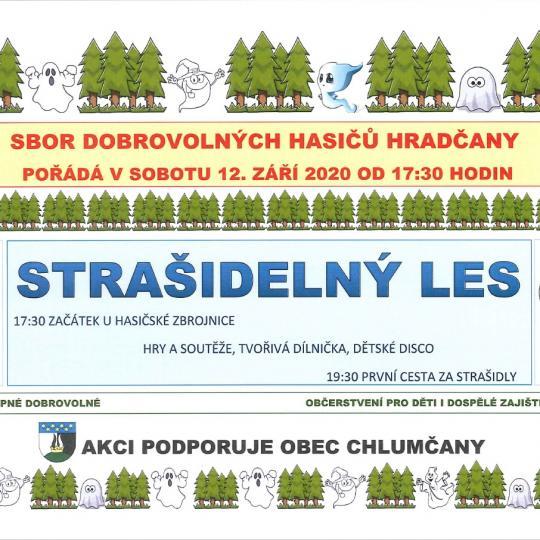 Strašidelný les Hradčany